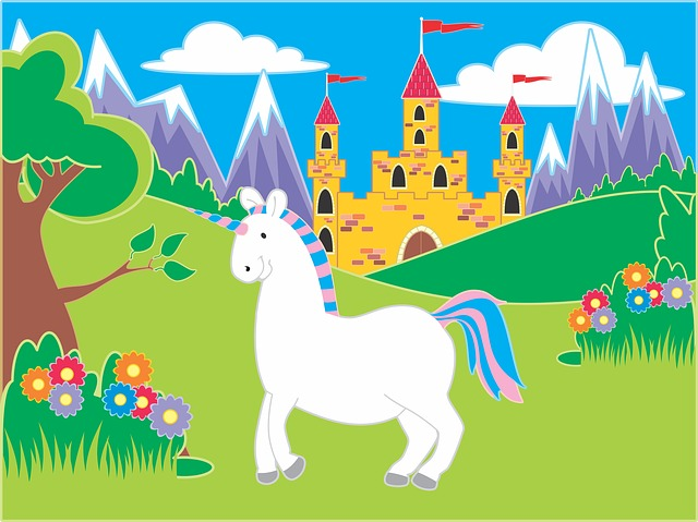Unicornio cuento infantil
